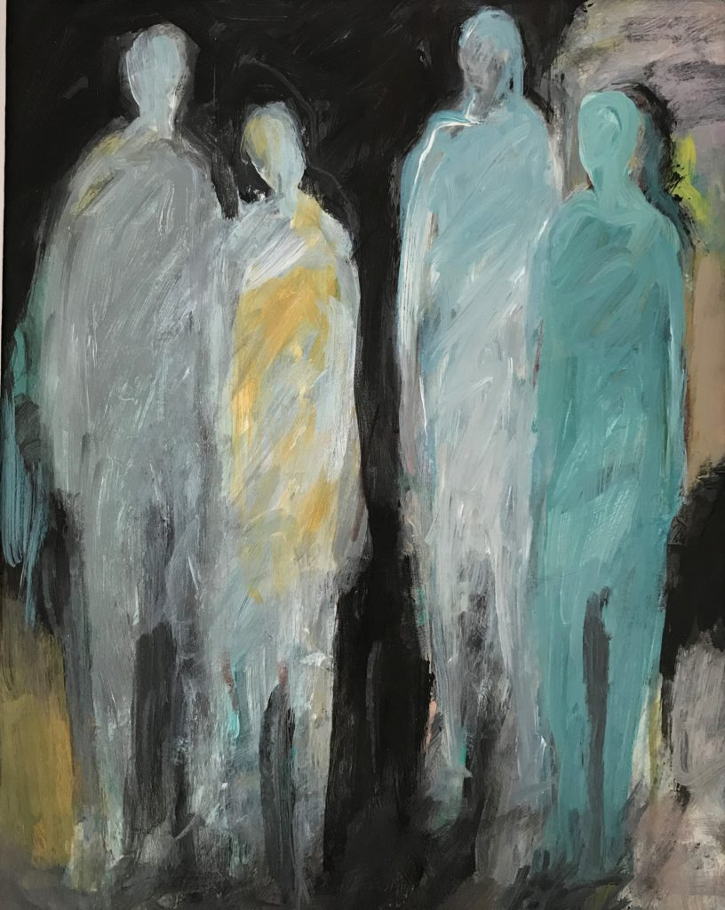 """Double Date (9.5"""" x 7.5"""")"""