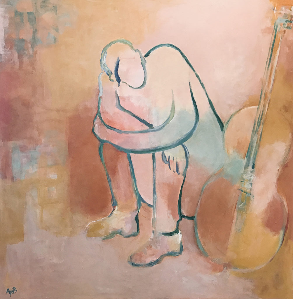 """After the Gig (48""""x48"""")"""