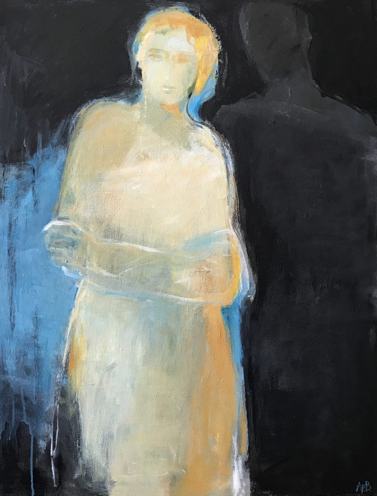 """Alone is Strong (38""""x30"""")"""