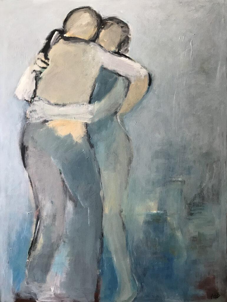 "The Hug (48""x36"")"